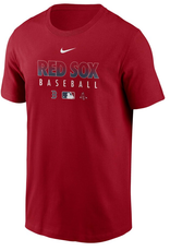 Nike Men's Authentic Collection Team Performance T-Shirt Boston Red Sox Red