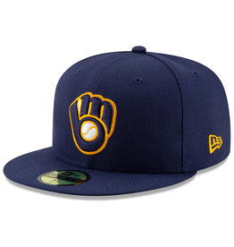 New Era On-Field '20 Home Hat Milwaukee Brewers Navy