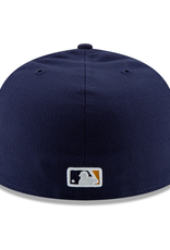New Era On-Field '20 Authentic 59FIFTY Home Hat Milwaukee Brewers Navy