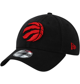 New Era Men's Core Classic TW Adjustable Hat Toronto Raptors Black