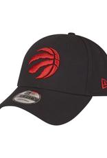 New Era Men's The League Adjustable Hat Toronto Raptors Black