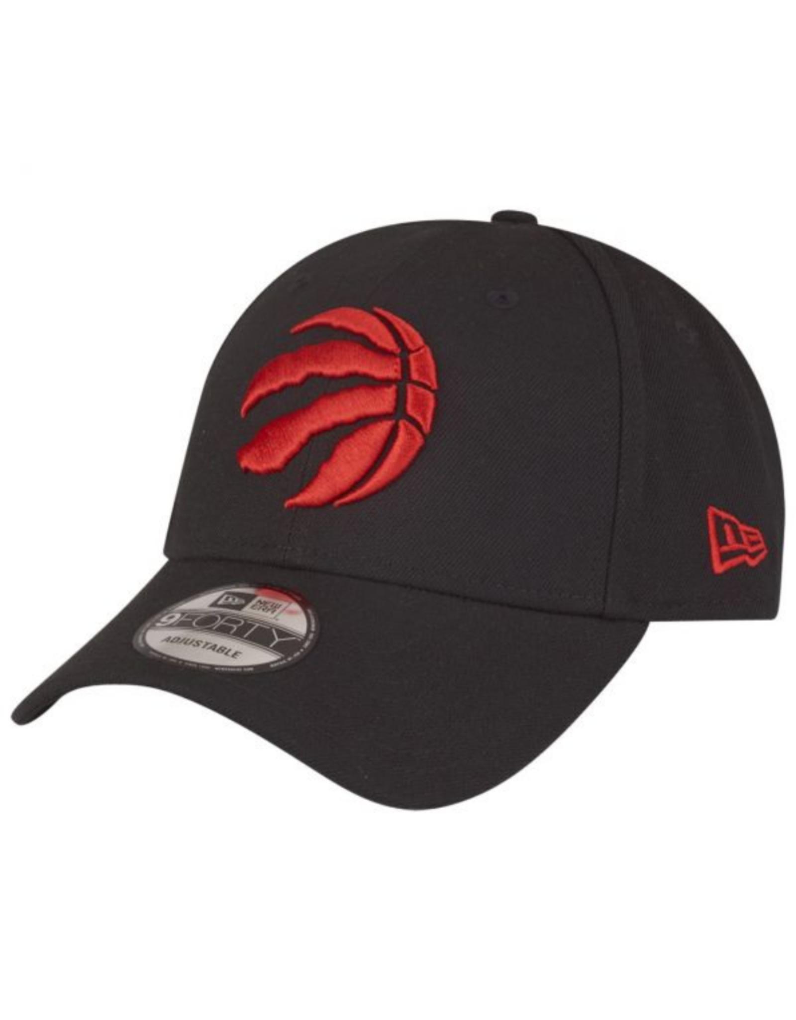 New Era Youth The League Adjustable Hat Toronto Raptors Black