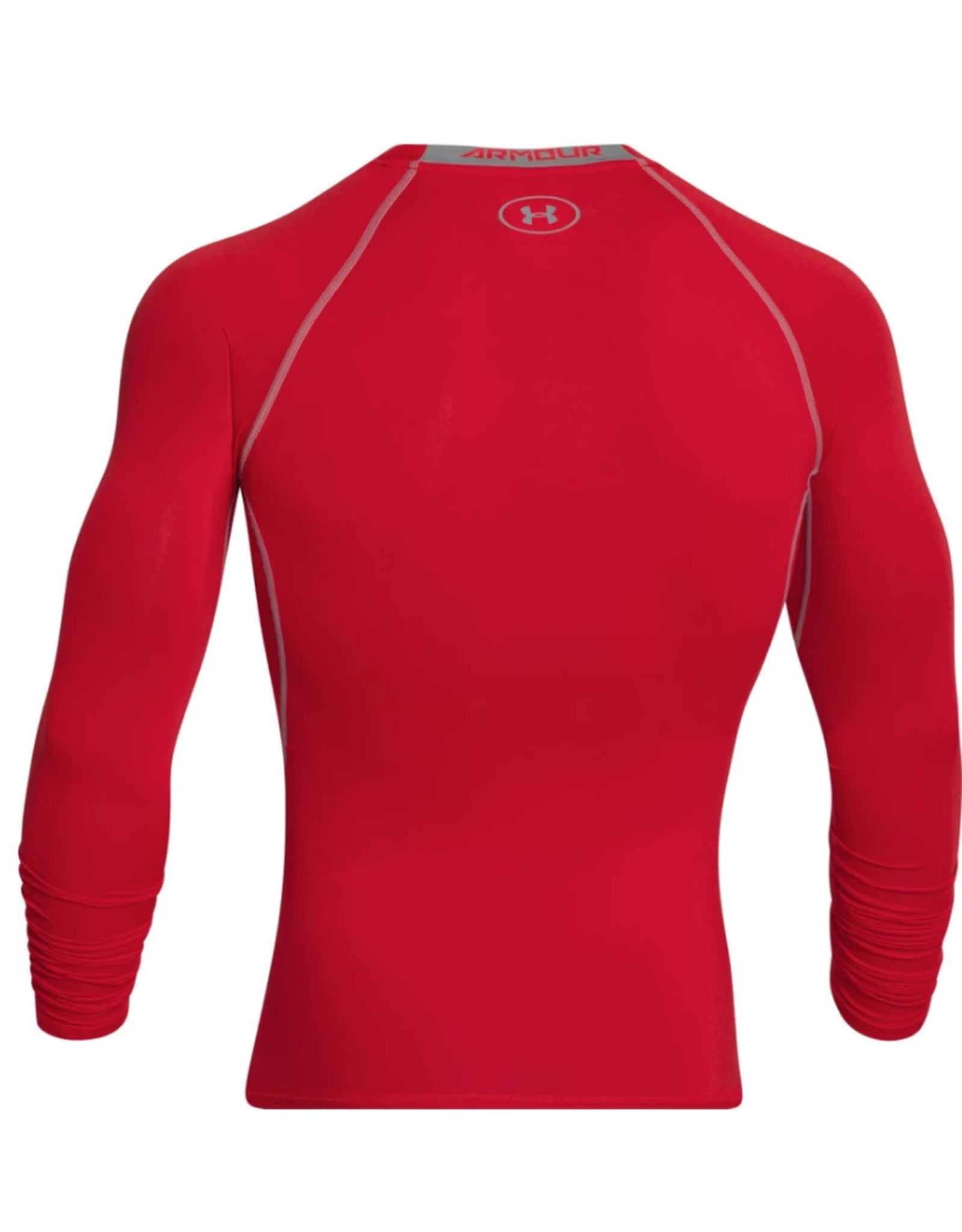 Under Armour Compression Long Sleeve Red Shirt