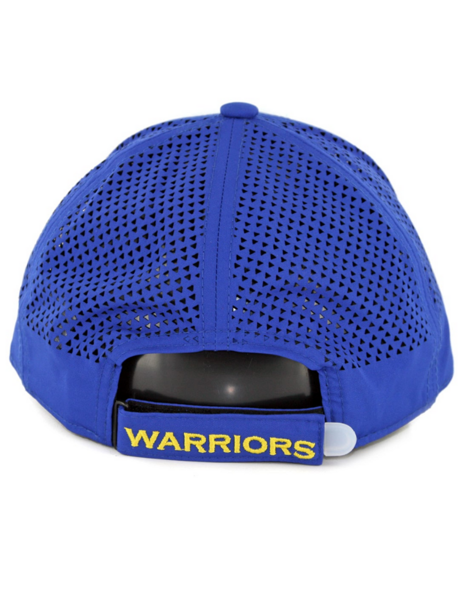 New Era Men's Performance Pivot 2 Adjustable Hat Golden State Warriors Blue