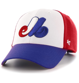 '47 MVP Cap Montreal Expos White/Blue/Red Adjustable