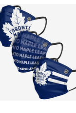 FOCO FOCO Adult Matchday Face Cover 3 Pack Toronto Maple Leafs
