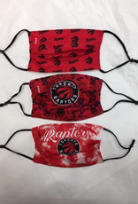 FOCO FOCO Adult Matchday Face Cover 3 Pack Toronto Raptors