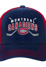 Outerstuff Youth Faceoff Adjustable Hat Montreal Canadiens