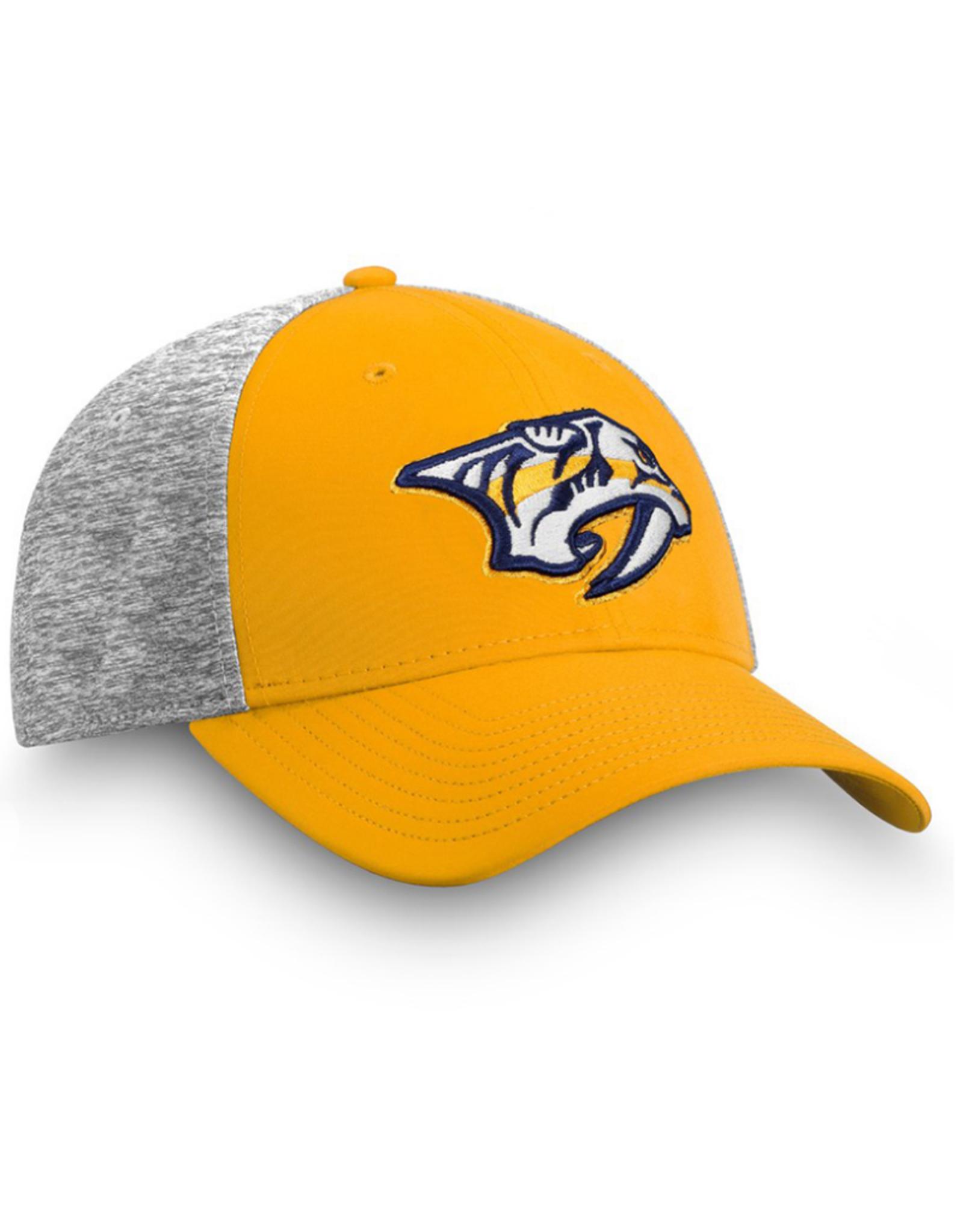 Fanatics Fanatics Men's 2019 Player Participant Hat Nashville Predators Yellow
