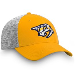 Fanatics Fanatics Men's 2019 Player Participant Hat Nashville Predators Yellow