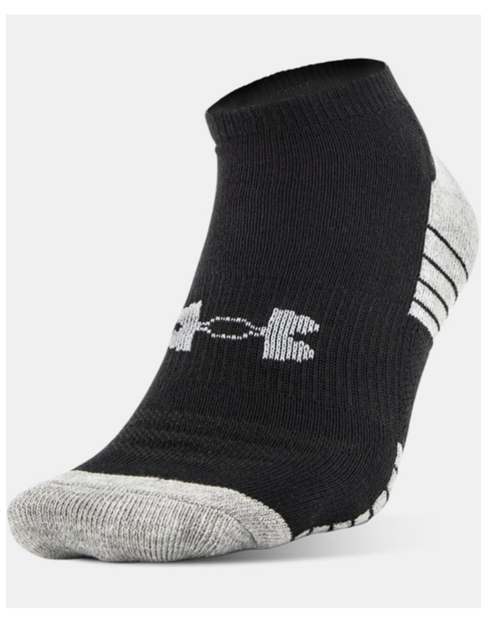 Under Armour Men's Ankle Sock 3 Pack Black