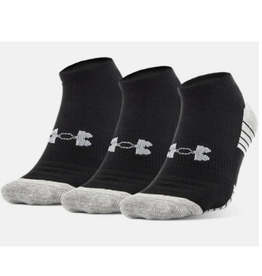 Under Armour Men's Ankle Sock 3 Pack Black