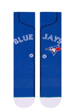 Stance Stance Men's Alternate Jersey Sock Toronto Blue Jays Blue Large