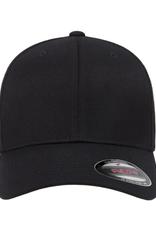 ATC Men's Wooly Combed Blank Flexfit Hat Black