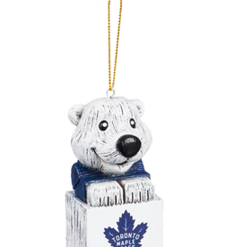 Team Sports America NHL Mascot Ornament Toronto Maple Leafs