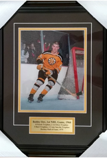 """Imperial Sports Bobby Orr's First NHL Game 15"""" x 19"""" Limited Framed Print"""
