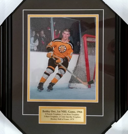 "Imperial Sports Bobby Orr's First Game 15"" x 19"" Limited Framed Print"