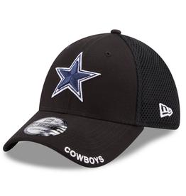 New Era Men's 39THIRTY Classic Neo B3 Hat Dallas Cowboys Black