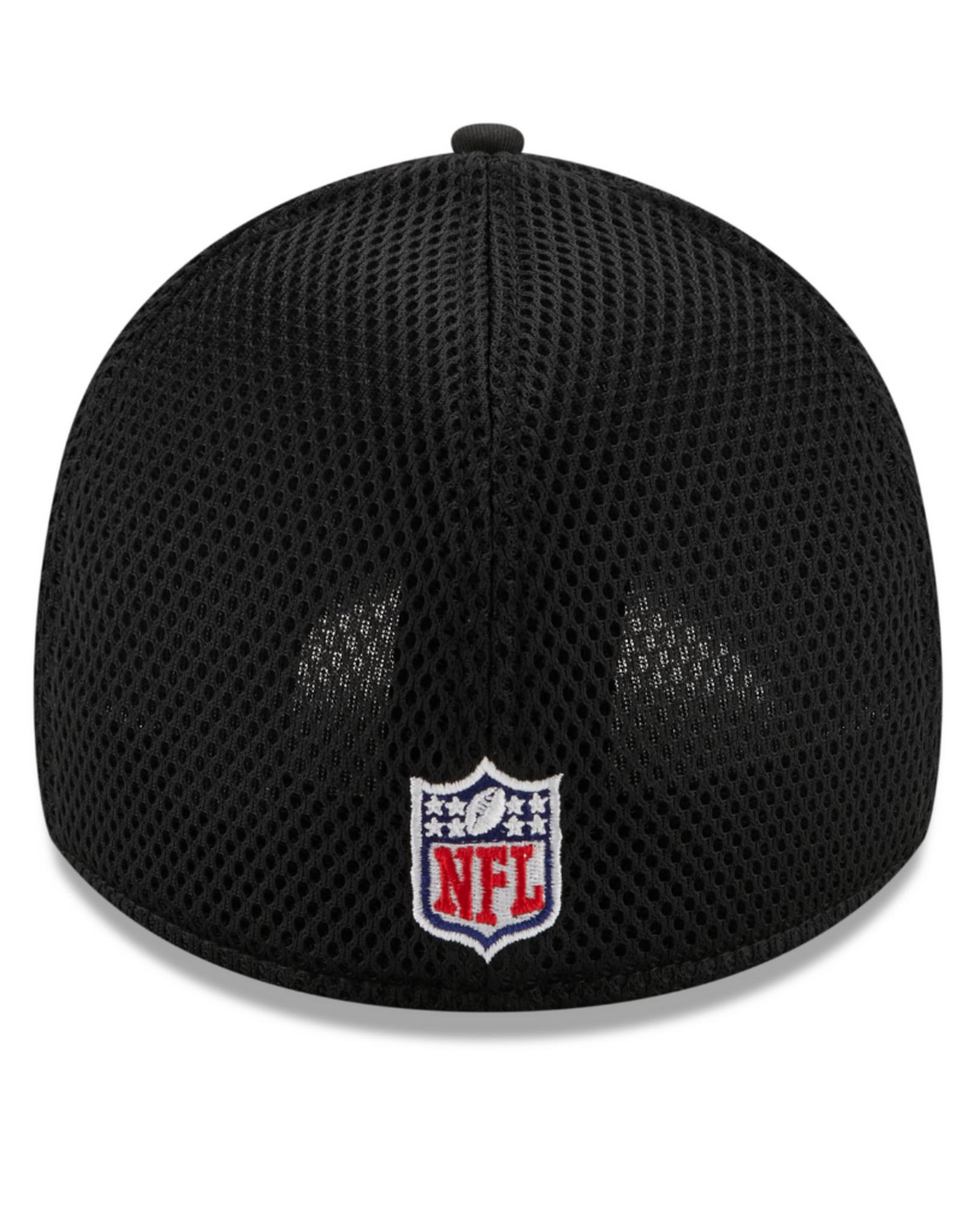 New Era Men's 39THIRTY Classic Neo B3 Hat Green Bay Packers Black