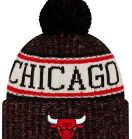New Era Men's '19 Sport Knit Chicago Bulls Black/Red