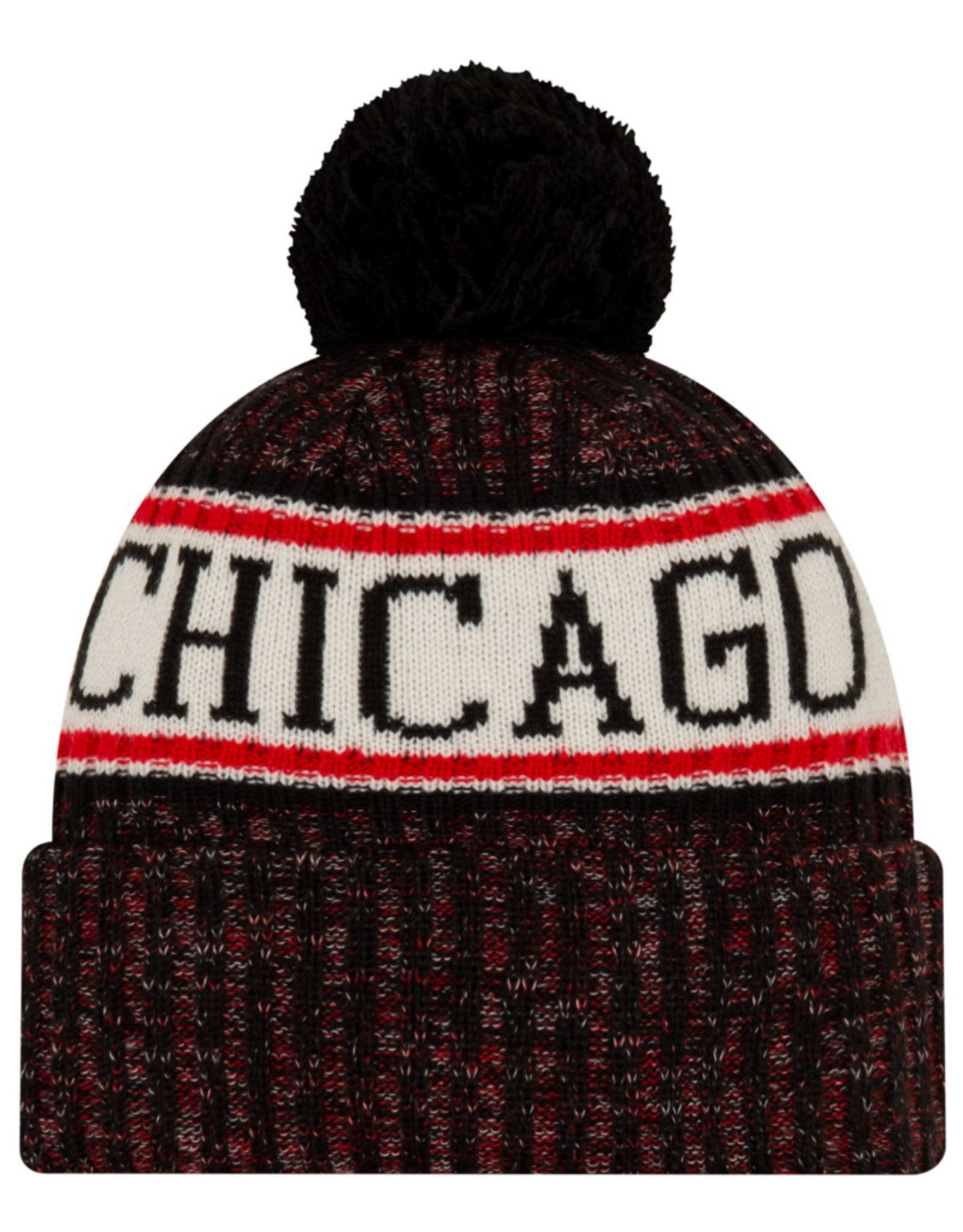 New Era Men's '19 Sport Knit Chicago Bulls Black/Red