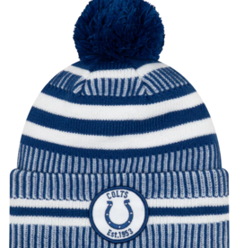 New Era Men's '19 Sport Knit Indianapolis Colts Blue