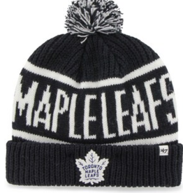 '47 Adult Calgary Cuff Knit Toronto Maple Leafs Navy