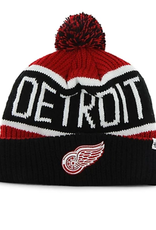 '47 Adult Calgary Cuff Knit Detroit Red Wings Black Red