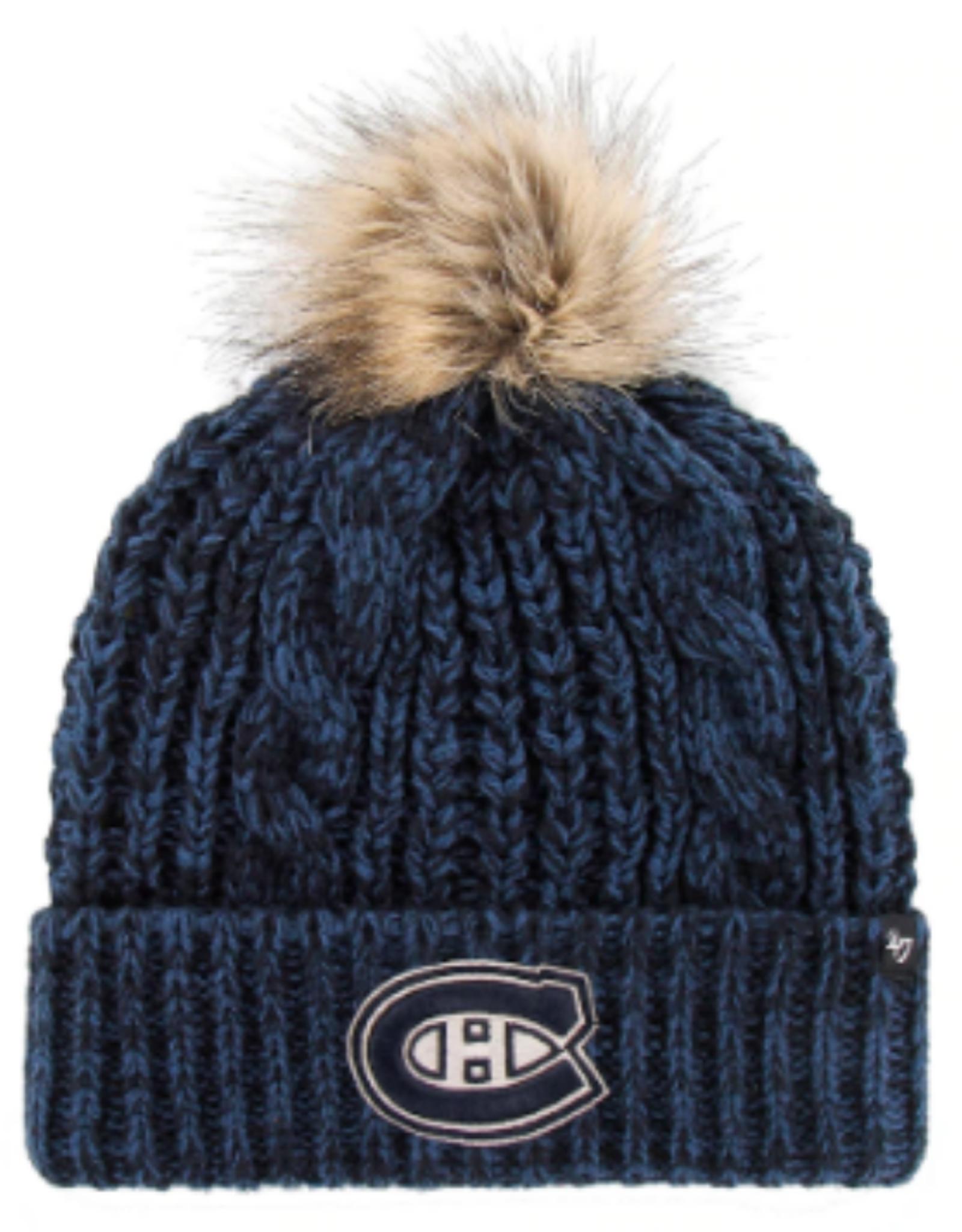 '47 Women's Meeko Cuff Knit Montreal Canadiens Blue/Black