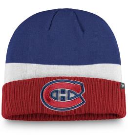 Fanatics Fanatics Adult Alternate Breakaway Beanie Montreal Canadiens Red/White/Blue