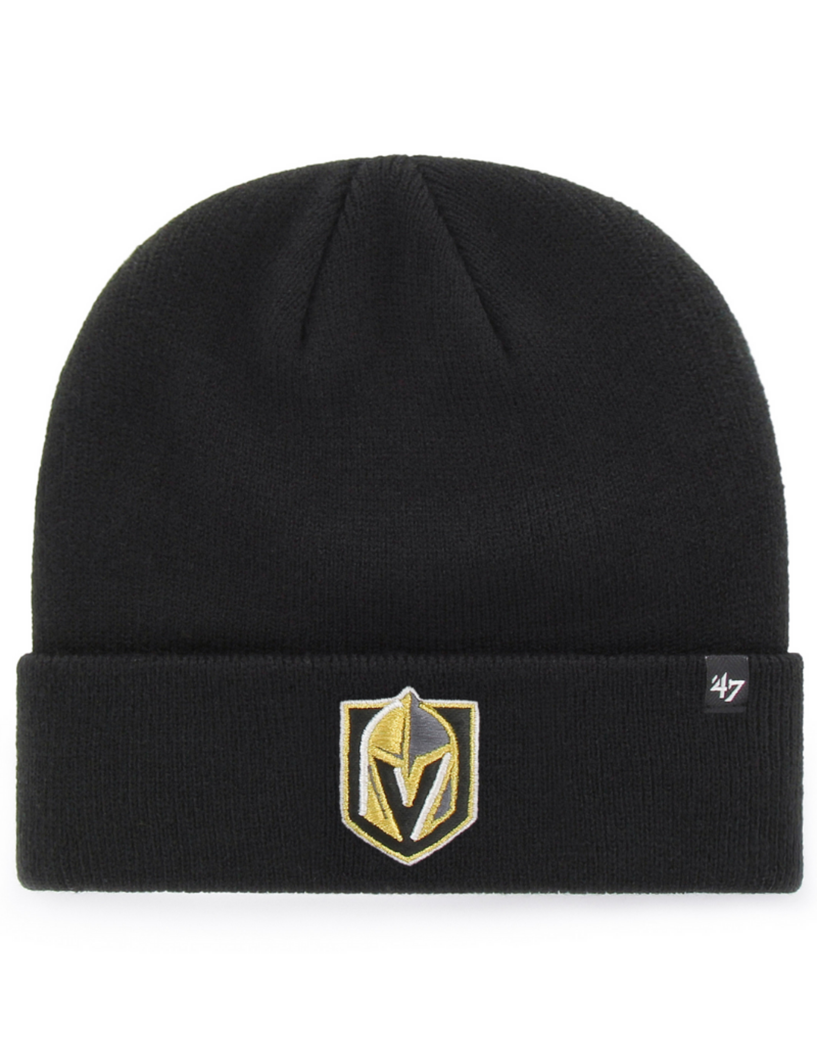 '47 Adult Raised Cuff Knit Vegas Golden Knights Black