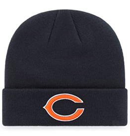 '47 Adult Raised Cuff Knit Chicago Bears Navy