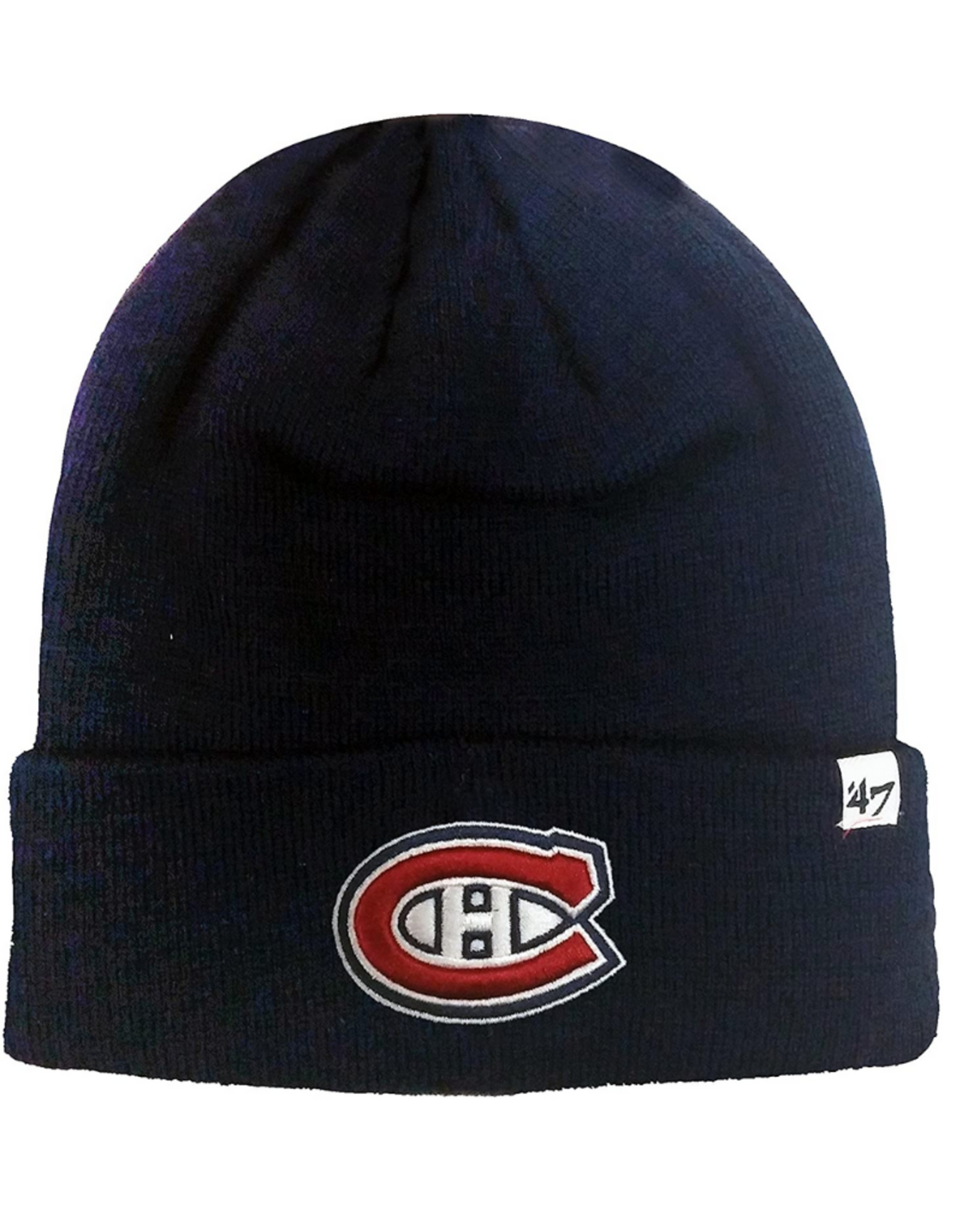 '47 Adult Raised Cuff Knit Montreal Canadiens Navy