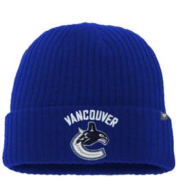 Fanatics Fanatics Adult Primary Logo Beanie Vancouver Canucks Blue