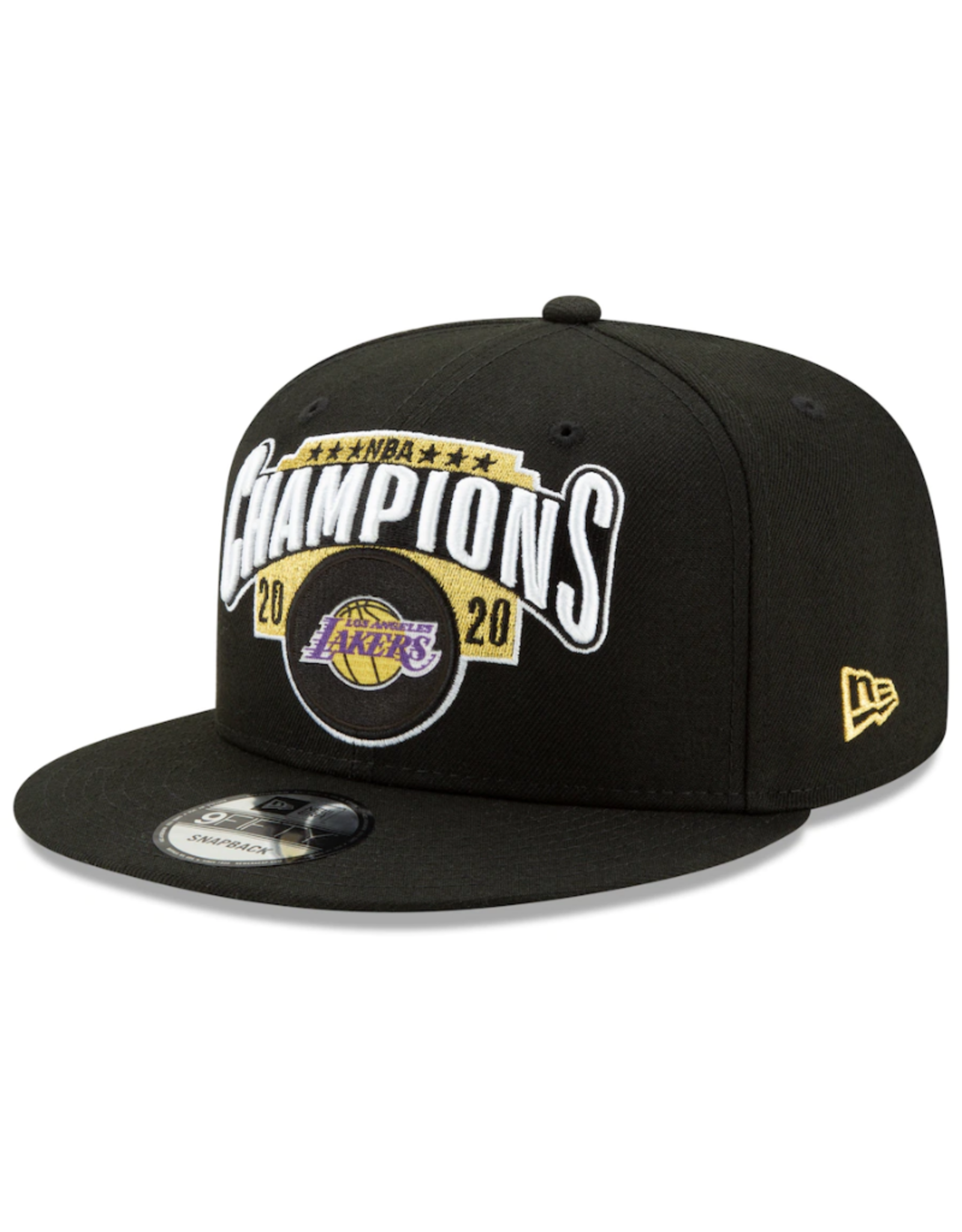 New Era Adult NBA '20 Championship Locker Room 9FIFTY Hat Los Angeles Lakers