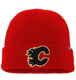 Fanatics Fanatics Adult Primary Logo Beanie Calgary Flames Red