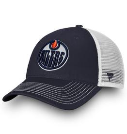 Fanatics Fanatics Adult Core Trucker Adjustable Hat Edmonton Oilers