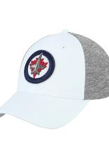 Fanatics Fanatics Adult '19 Playoff Hat Winnipeg Jets White Grey