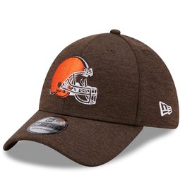New Era Adult 39THIRTY Shadow B3 Hat Cleveland Browns Brown