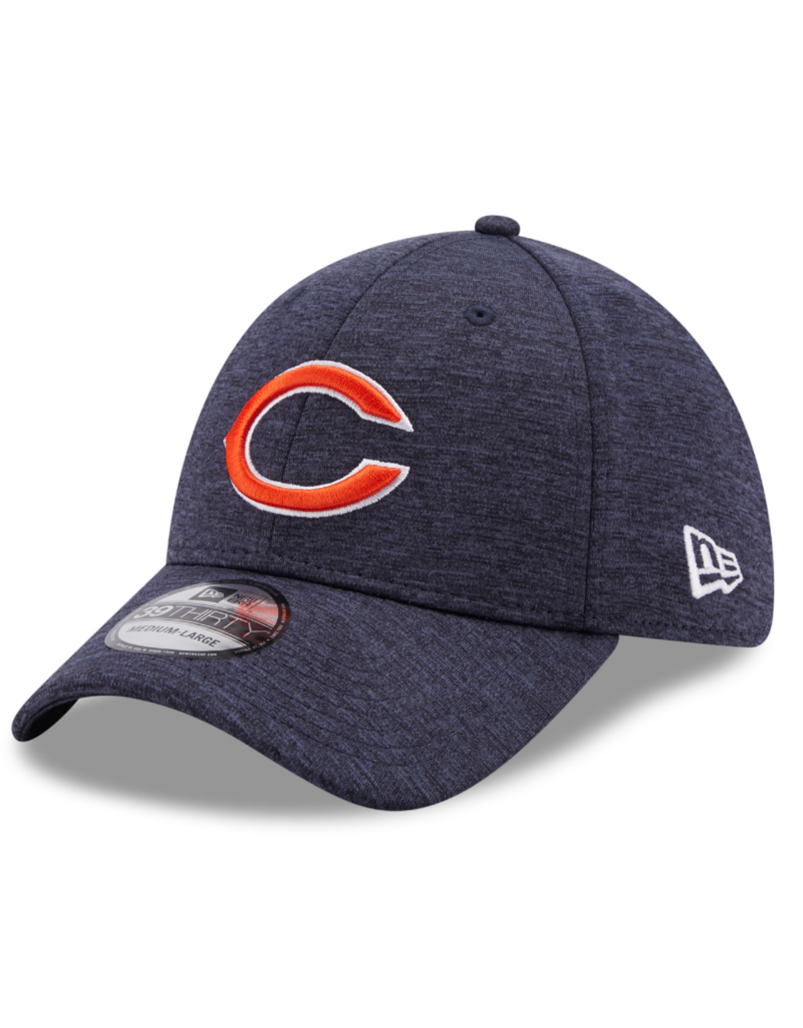 New Era Adult 39THIRTY Shadow B3 Hat Chicago Bears Navy