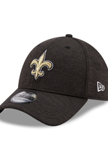 New Era Adult 39THIRTY Shadow B3 Hat New Orleans Saints Black