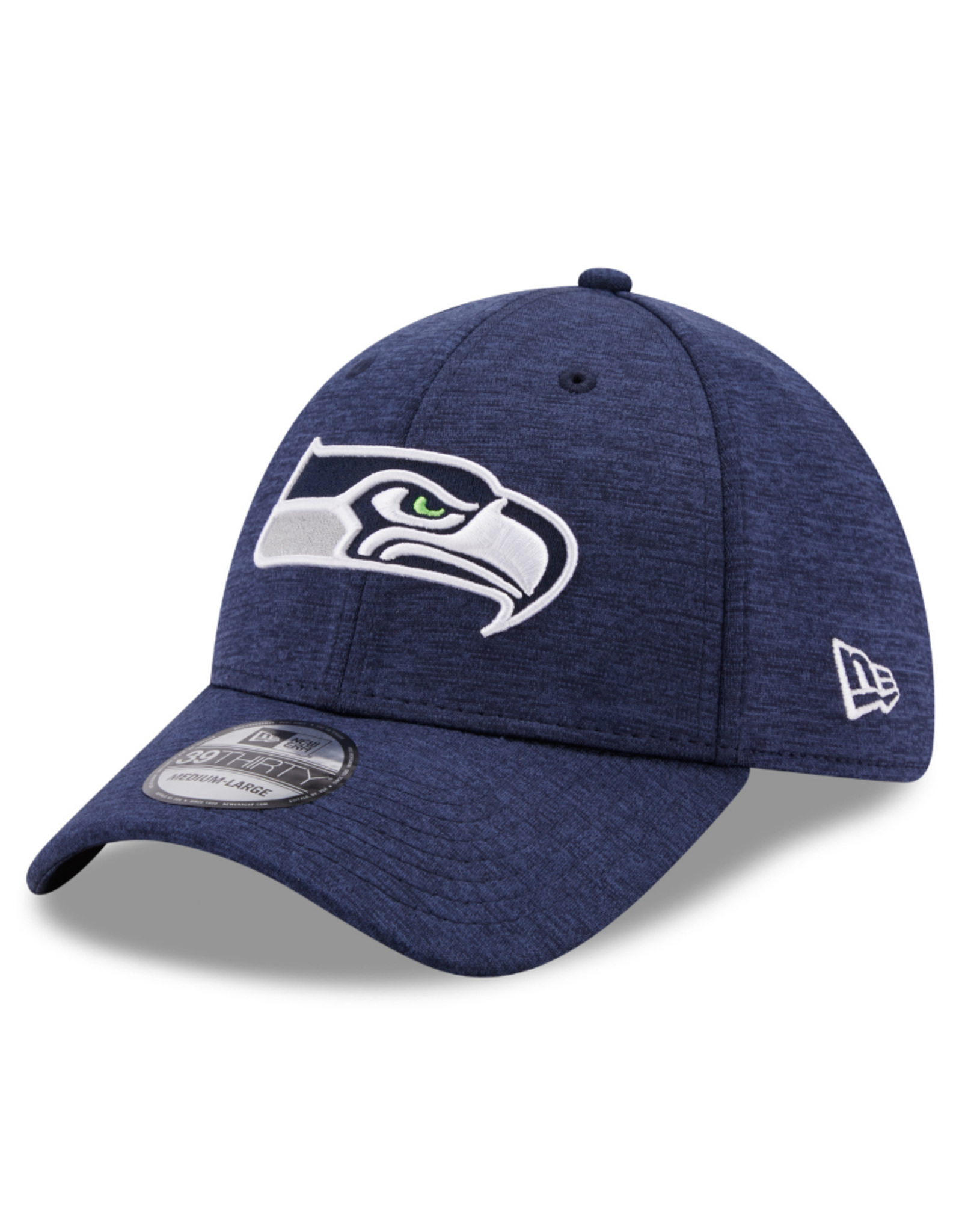 New Era Adult 39THIRTY Shadow B3 Hat Seattle Seahawks Navy