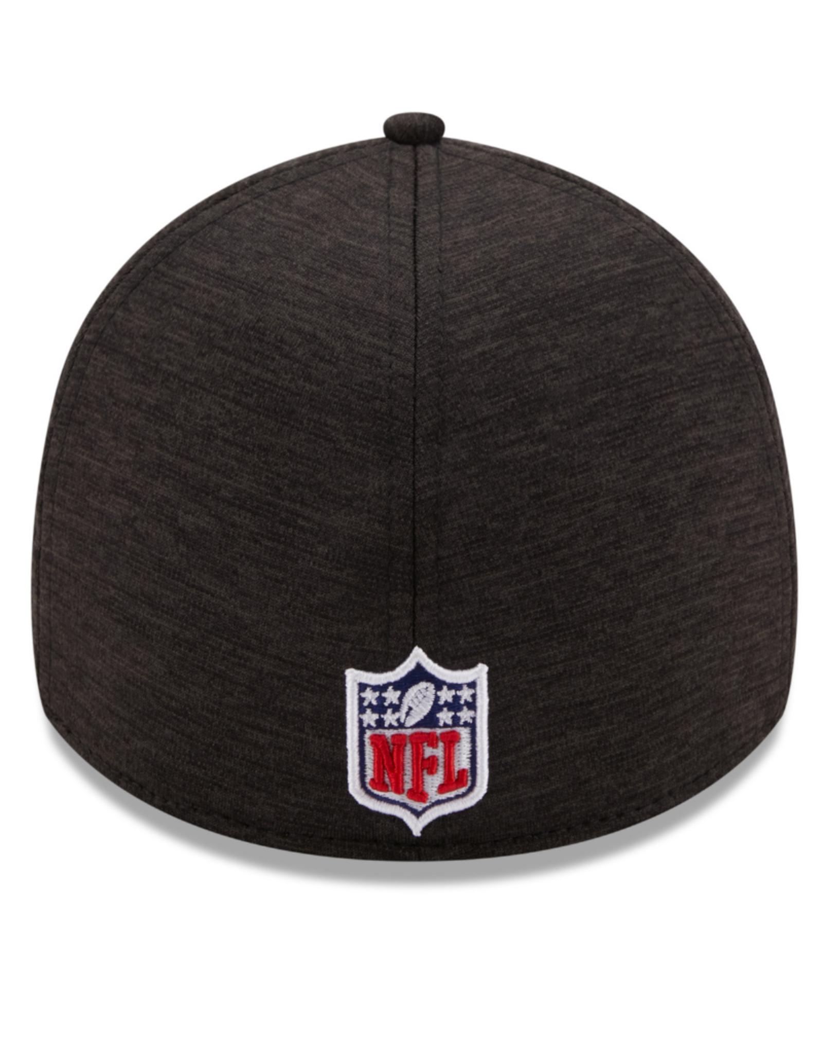 New Era Adult 39THIRTY Shadow B3 Hat Pittsburgh Steelers Black
