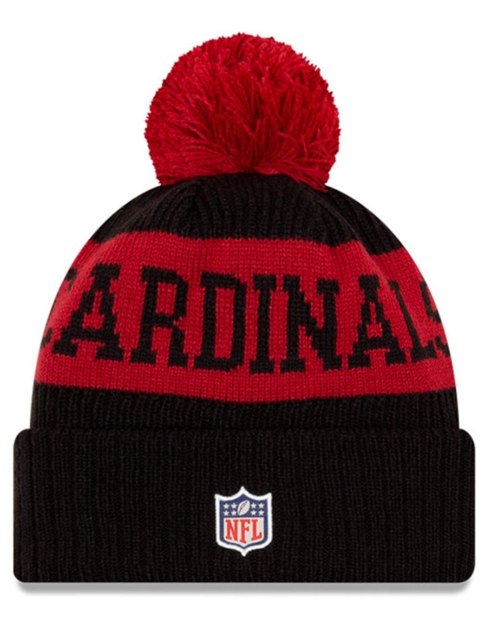 New Era Adult '20 On-Field Sport Knit Arizona Cardinals Black/Red