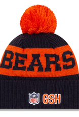 New Era Adult '20 On-Field Sport Knit Chicago Bears Navy/Orange
