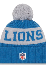 New Era Adult '20 On-Field Sport Knit Detroit Lions Blue/Grey