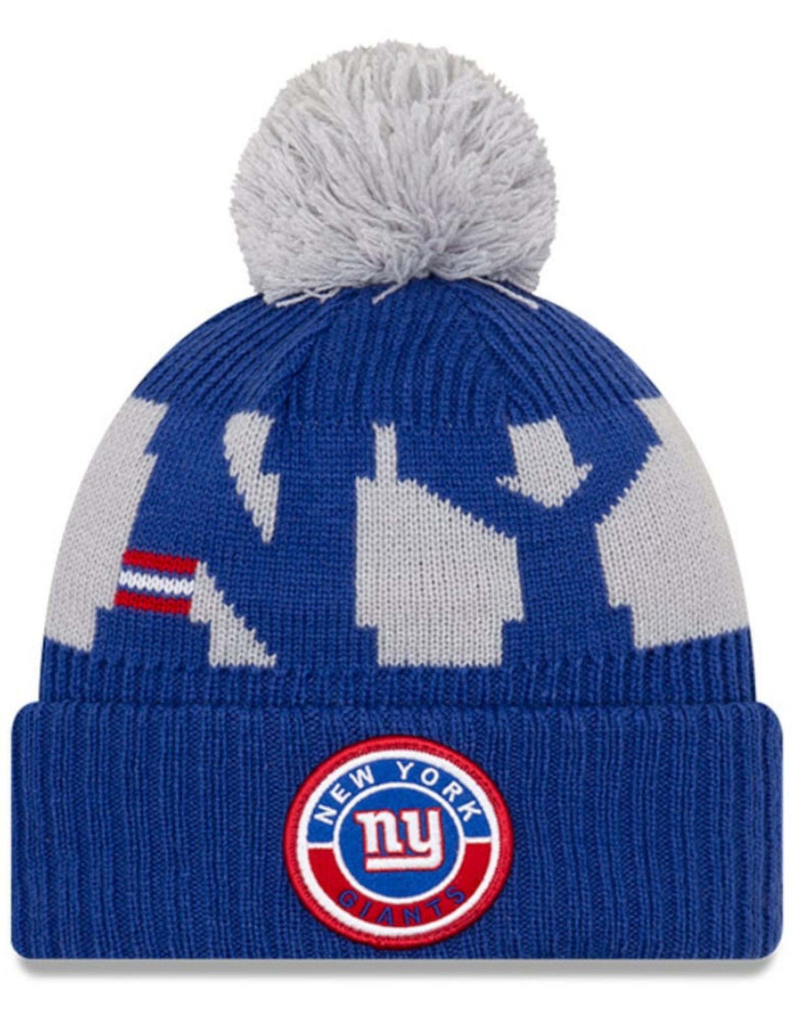 New Era Adult  '20 On-Field Sport Knit New York Giants Blue/Grey