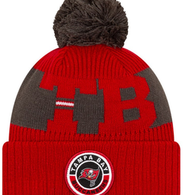New Era '20 On-Field Sport Knit Tampa Bay Buccaneers Red/Grey
