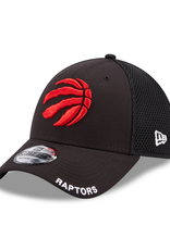 New Era Men's 39THIRTY Classic Neo B3 Hat Toronto Raptors Black