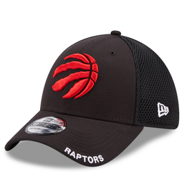New Era Men's 39THIRTY Classic Neo B3 Hat Toronto Raptors Black
